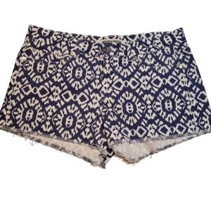 ANDREW CHARLES Printed Cutt off Shorts
